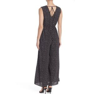 DR2 Sleeveless Surplice Strappy Back Jumpsuit
